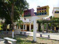 Plaza des Laz Palomas und mein Hotel