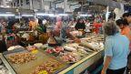 Fische auf dem Morgenmarkt