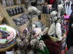 Getrocknete Lamaföten auf dem Hexenmarkt