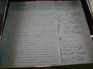 Unabhängigkeitserklärung von Bolivien