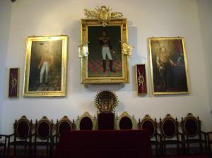 Simon Bolivar, der Bolivien in die Unabhängigkeit führte