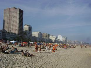 Strand in Ipanema