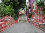 Bunte Treppe in Lapa