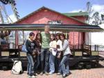 Felix und 5 Equadorianerinnen