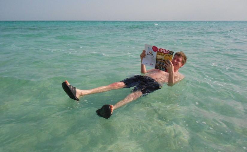 Floating im Toten Meer