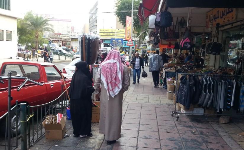 Ab über die Grenze nach Jordanien
