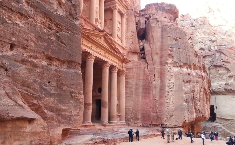 Petra – die aus Felsen geschlagene Stadt