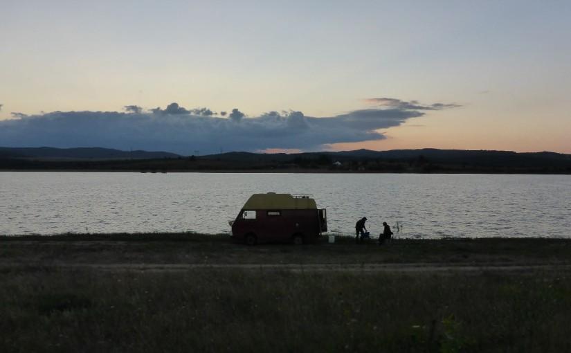 Einsamer See und Abschied von Johannes