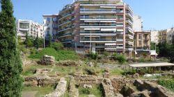 Ausgrabungen und Beton