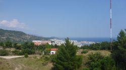 Blick vom Hotel über Kavala