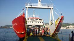 Fähre zur Insel Thassos