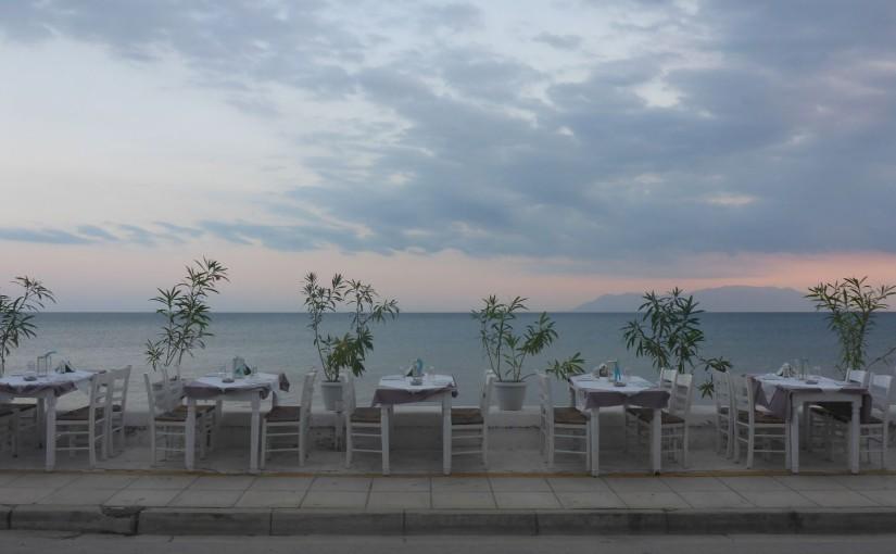 Die Taverne in Alexandroupolis
