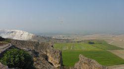 Paragliding über Pamukkale