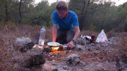 Kochen in der Waldküche