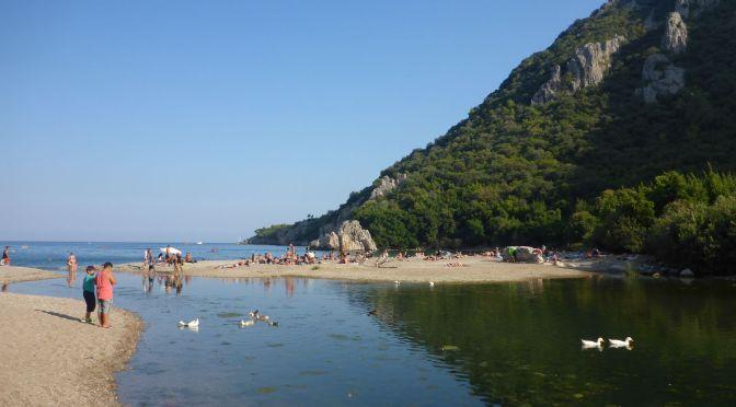 Strand von Olympos