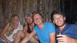 Rihanna, Tim, ich und Adriel