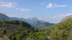Blick zum Berg Tahtali Dagi