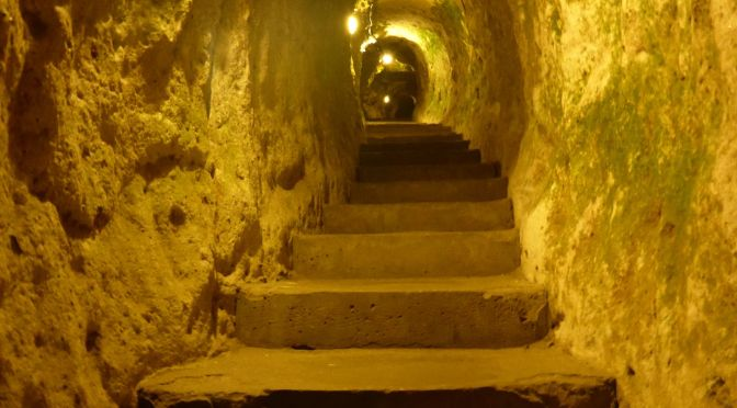 Unterirdische Städte Kappadokien