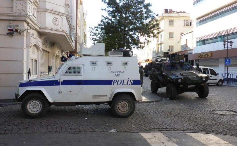 Diyarbakir – Ausgangssperre, gefangen im Hotel