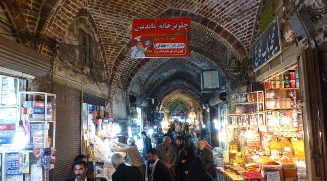 Der weltgrößte überdachte Basar in Tabriz