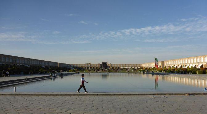 Blick über den Imam-Platz in Esfahan
