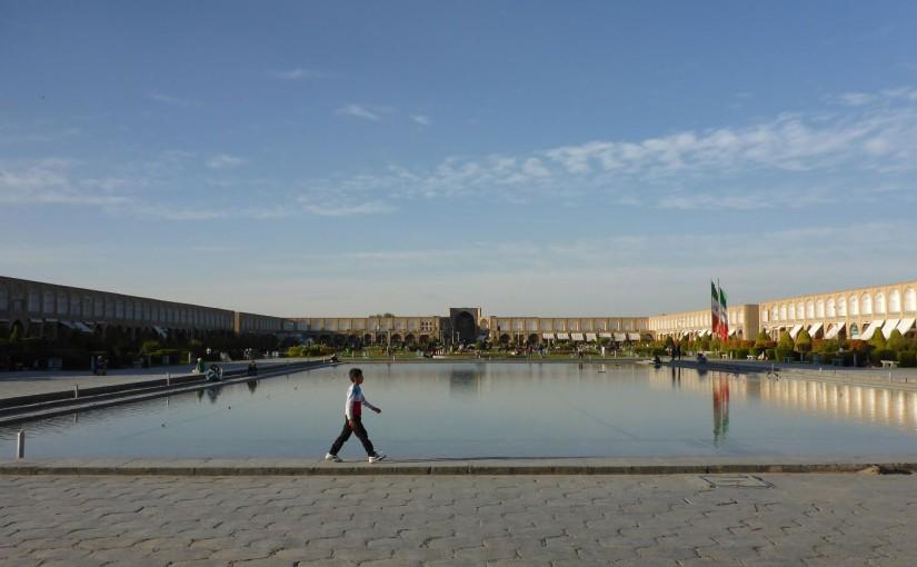 Esfahan – die halbe Welt