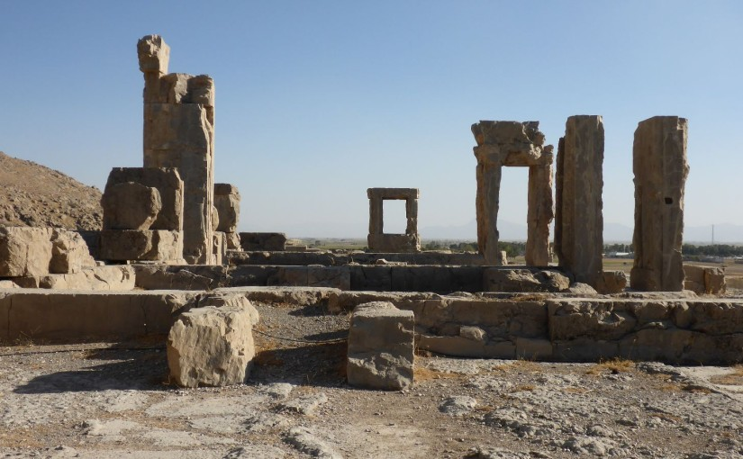 Persepolis – Ruinen des antiken Perserreichs