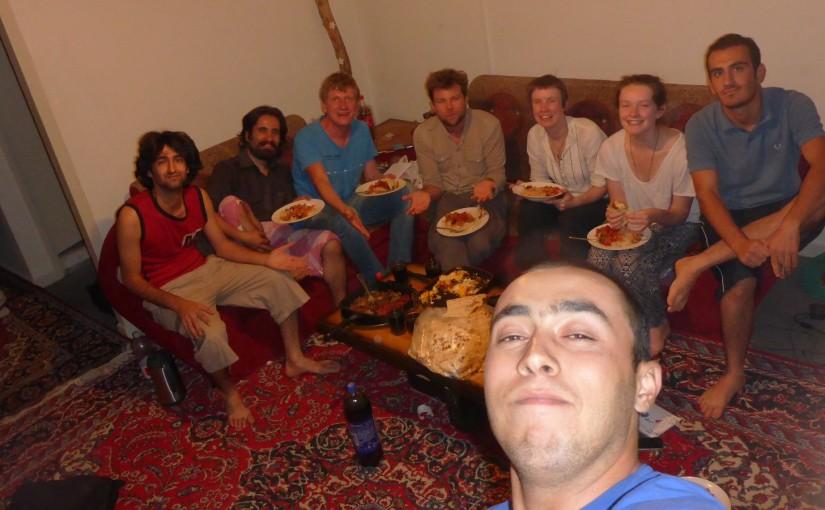 Shiraz – Couchsurfing, das erste Mal