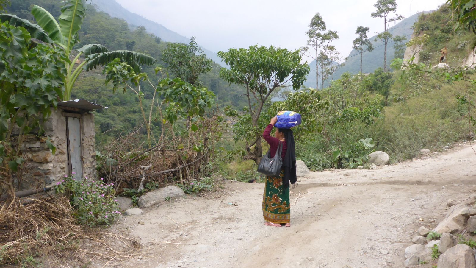 Begegnungen mit Dorfbewohnern