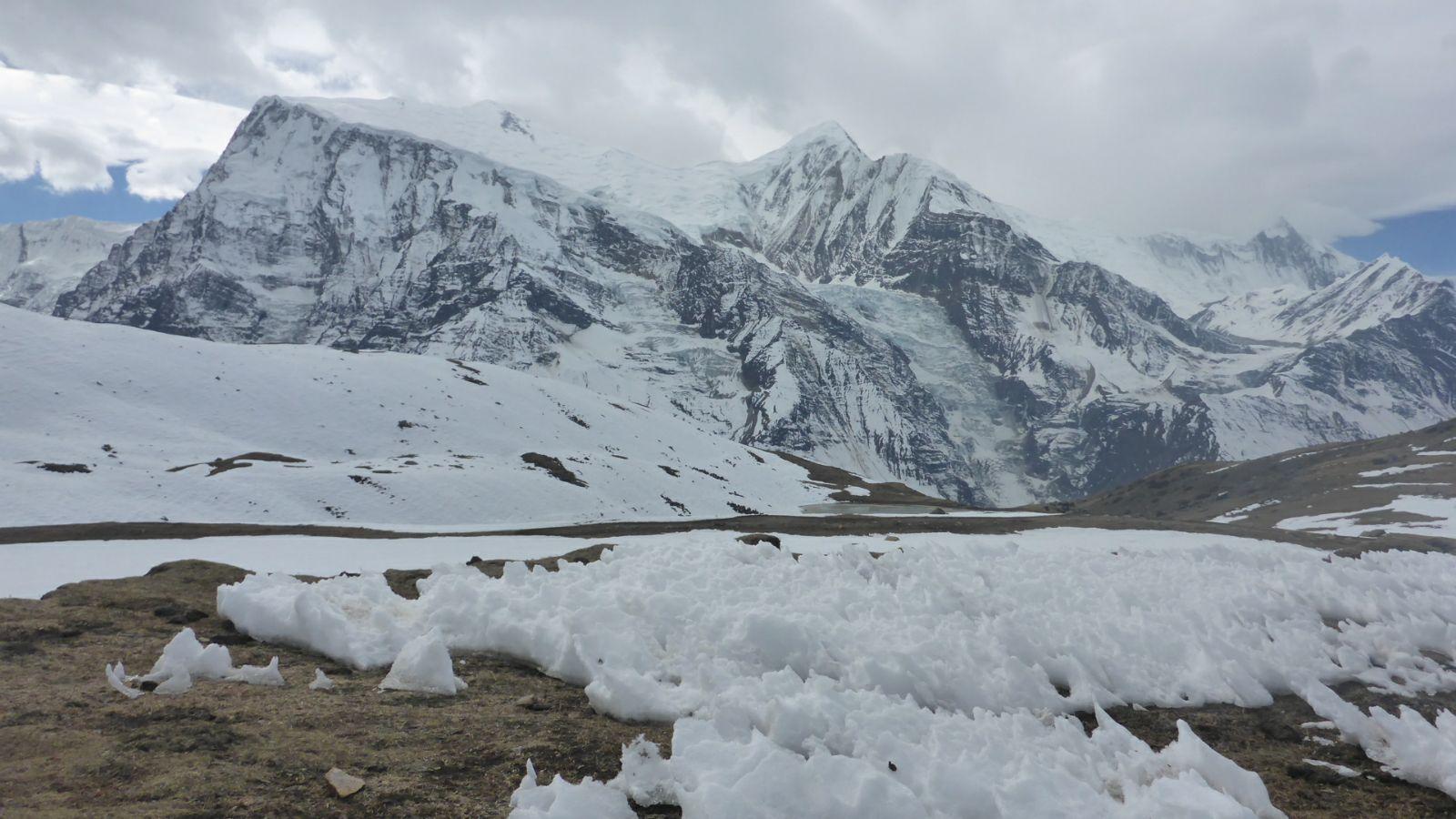 Eisige Bergwelt