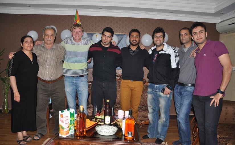 Gastfreundschaft im Iran bei Verwandten