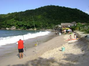 Strandwetter in Brasilien