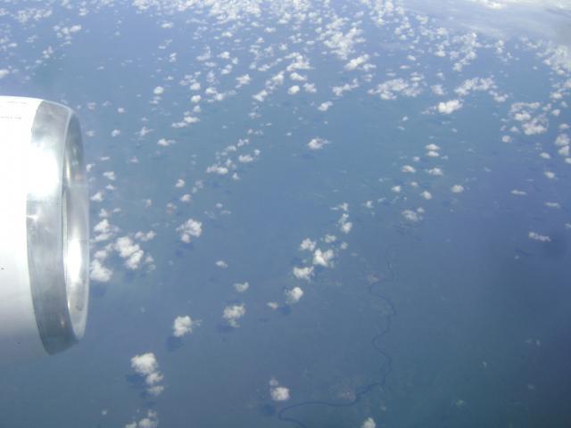 Flug nach Ecuador