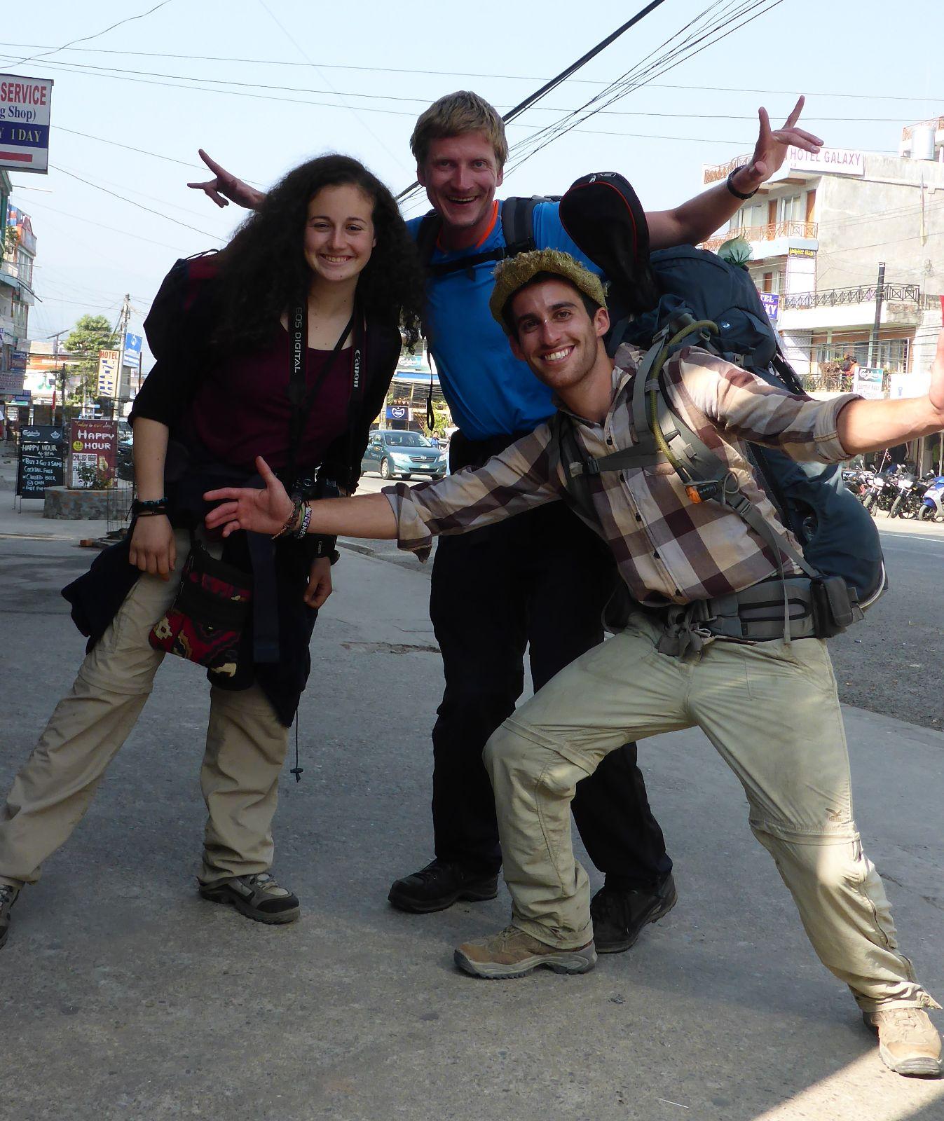 Mai, Gil und ich als City-Trekker