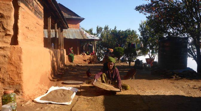 Haus meiner Gastgeber in Hattibang
