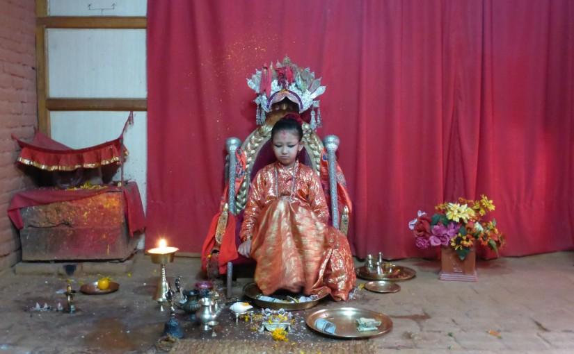 Patan – Besuch der lebenden Göttin Kumari