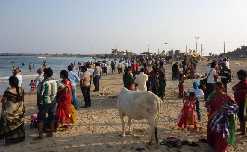 Visakhapatnam – Strandstopp mit Whiskey