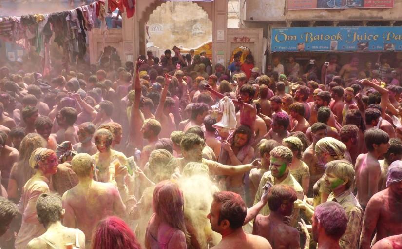 Holi – Fest der Farben in Pushkar