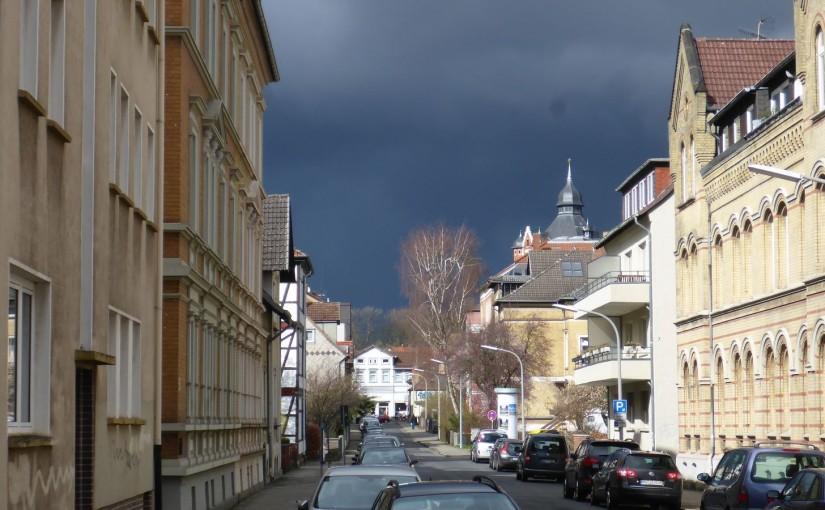 Braunschweig – Sturm und Peitschenhagel