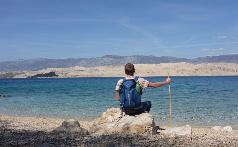 Pag – Insel-Trekking mit Abkühlung
