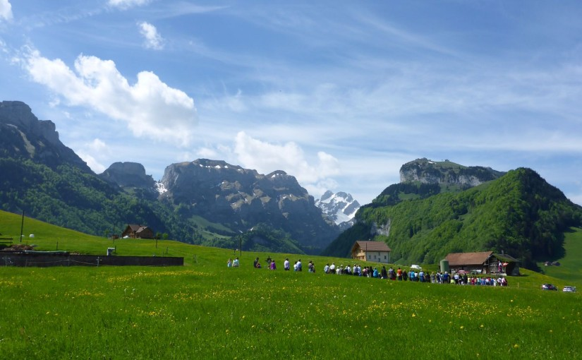 Kurztrip in die Schweizer Alpen