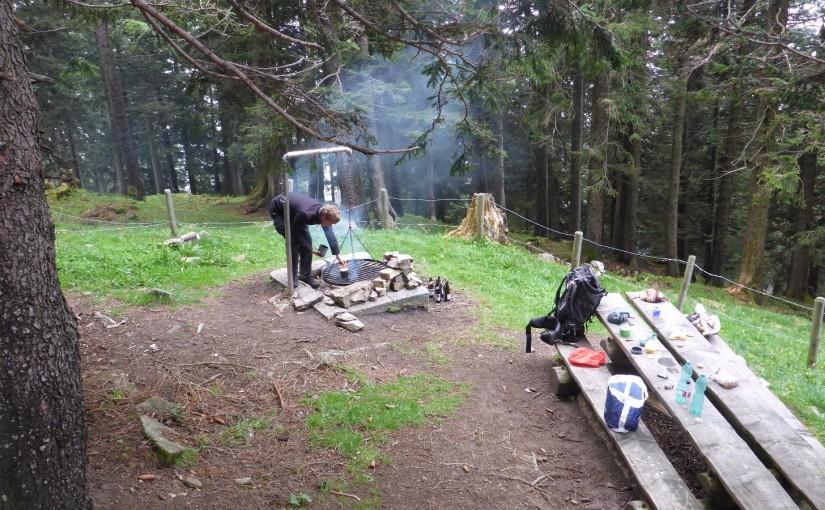 Schweiz-Abschied mit wild campen
