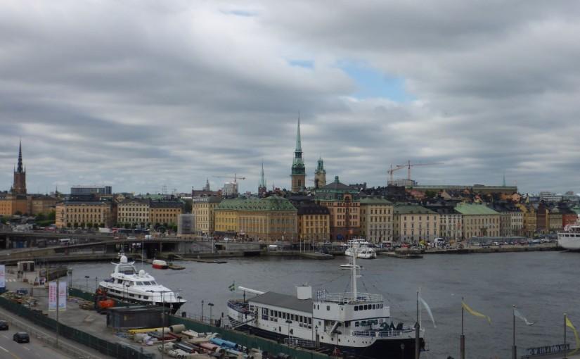 Blick auf Gamla Stan, die Altstadt von Stockholm