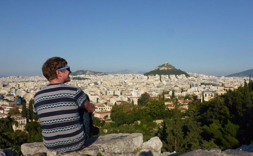 Blick über Athen