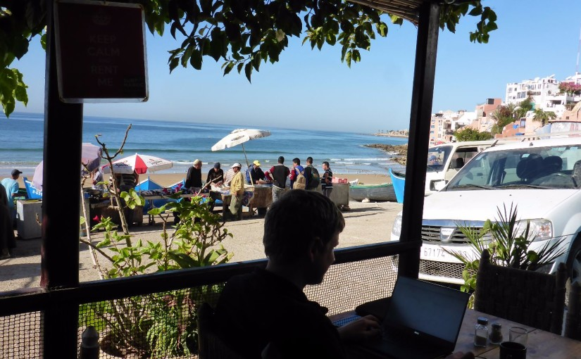 Taghazout – Coworking am Surferstrand