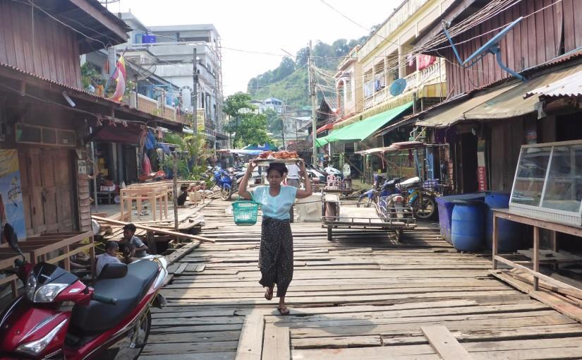 Kawthaung – Myanmar begrüßt mich