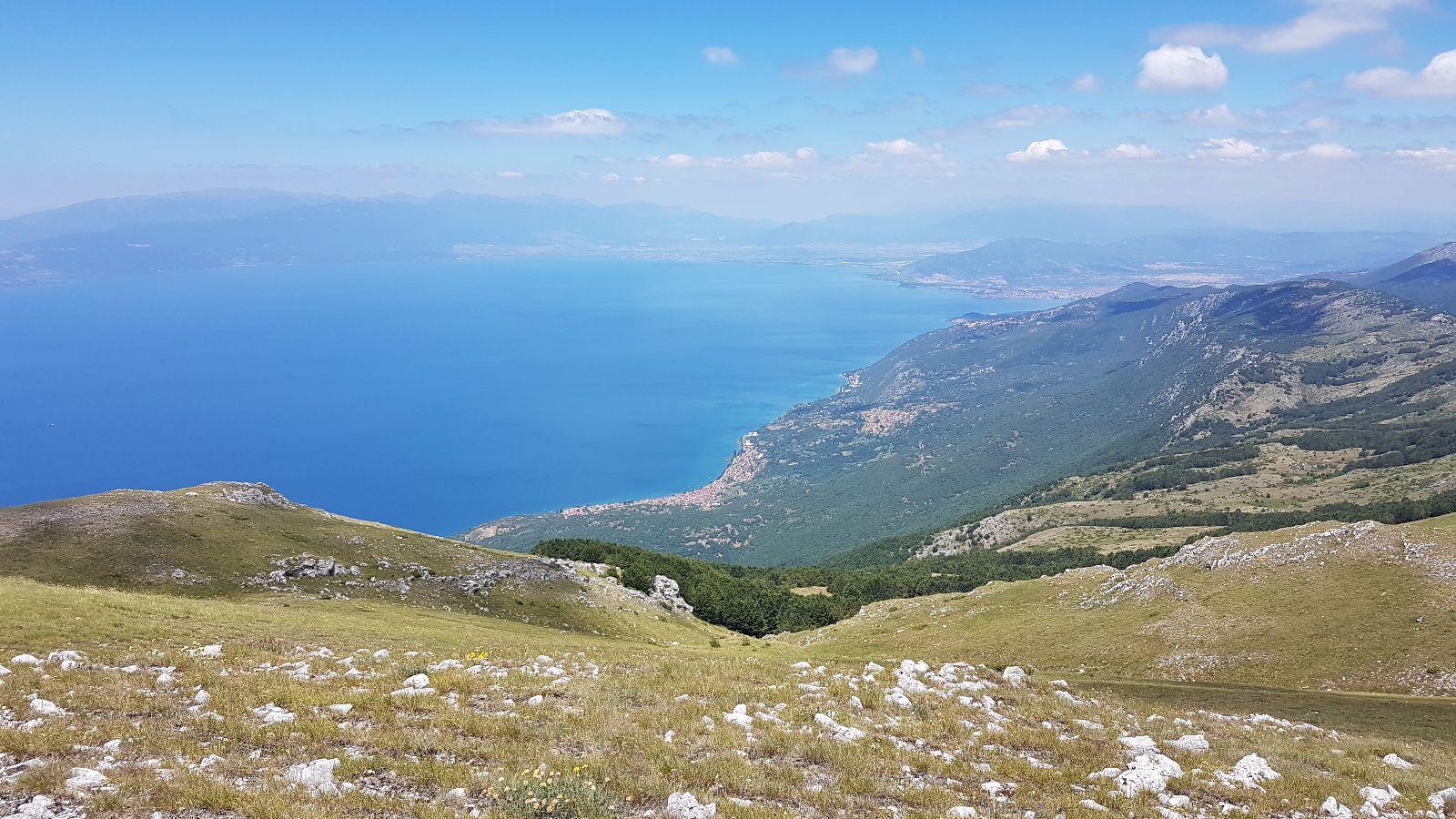 Wanderung über den Grat bis Ohrid