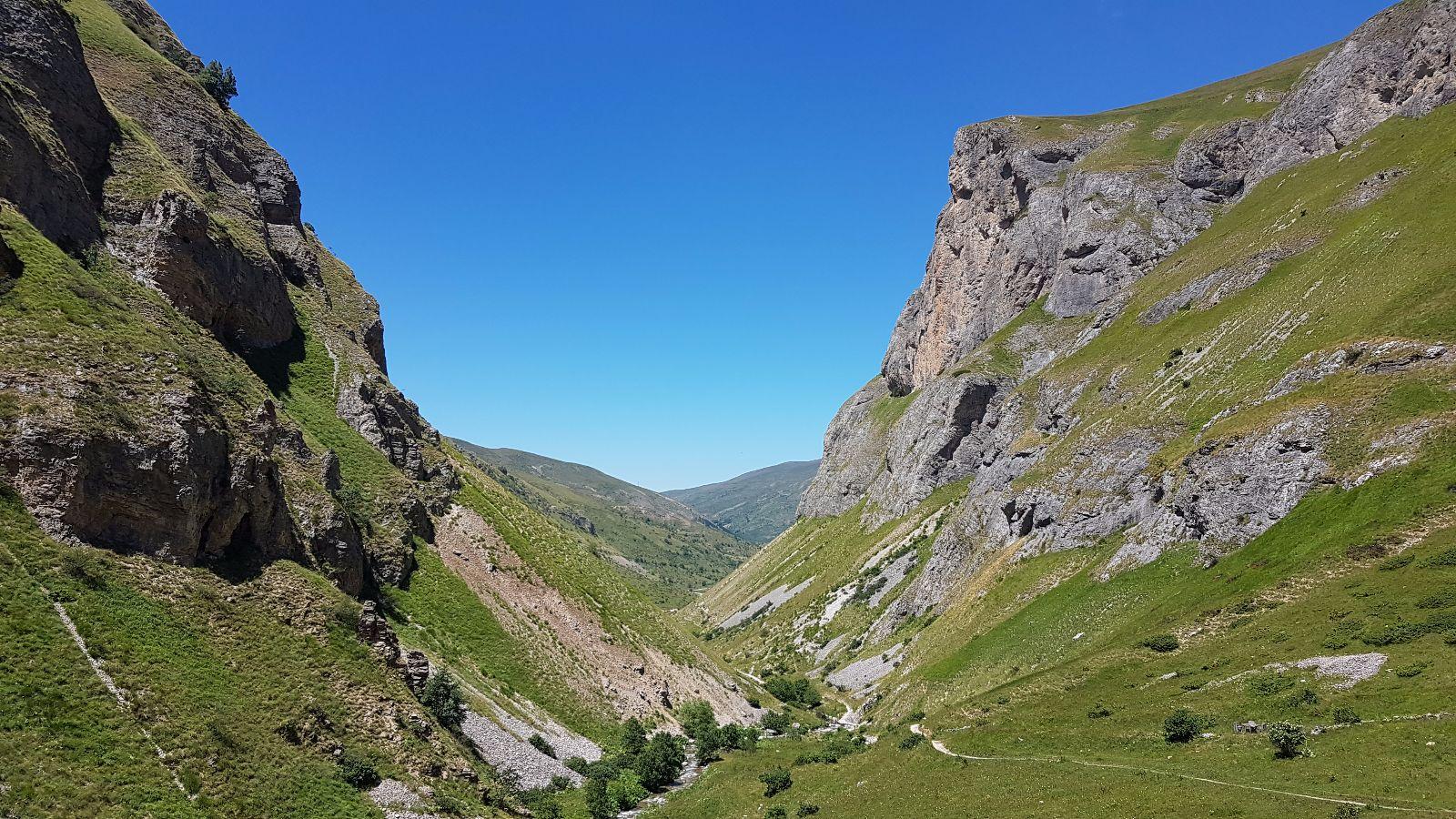 Schlucht im Shar-Gebirge