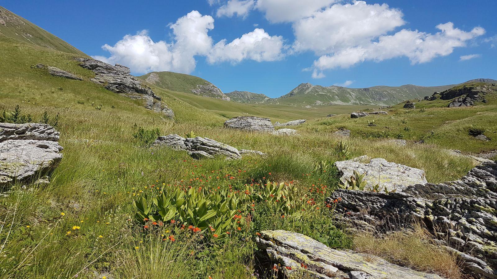 Einsame Weiten im Shar-Gebirge